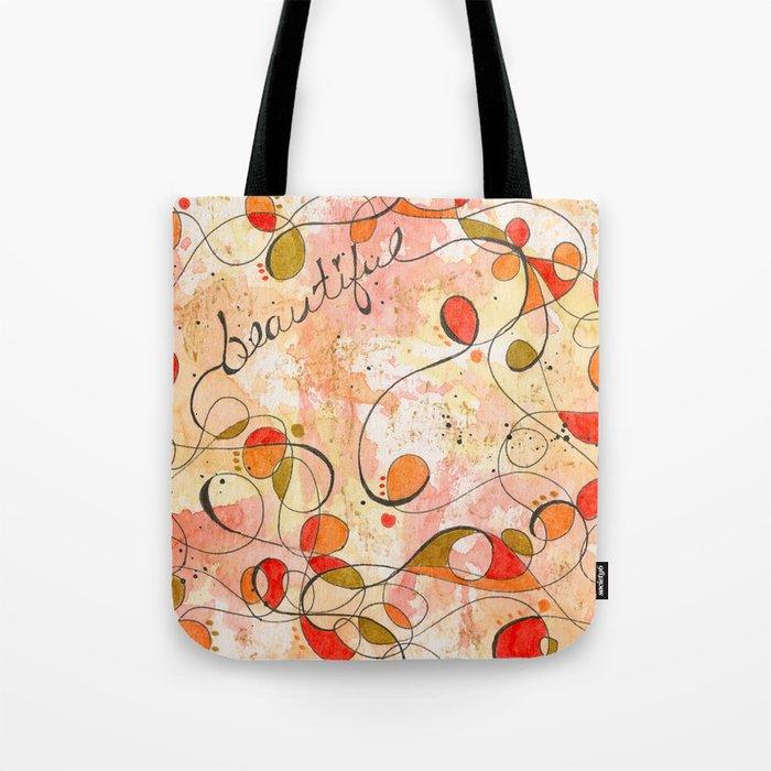Flourish: Beautiful Tote Bag