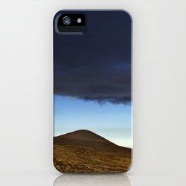 Moon Over The Slopes Of Mauna Kea iPhone Case