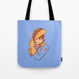 Taco Cowboy Tote Bag