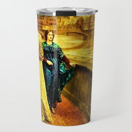 Henry Holiday Classical Masterpiece Dante and Beatrice Travel Mug