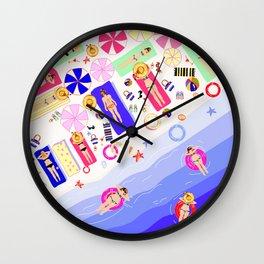 Beach Love - Part 2 Wall Clock