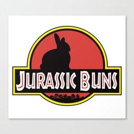 JURASSIC BUNS Canvas Print