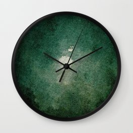 Midnight on the Road Wall Clock