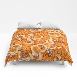 pumpkin dream Comforters