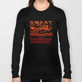 Carpenter Woman Long Sleeve T-shirt