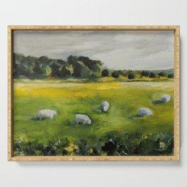 Irish Sheep Serving Tray