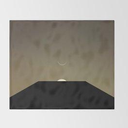 2001 Space Odyssey Minimal Dawn of Man Monolith Alignment Throw Blanket