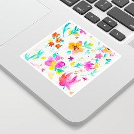 A Little Tropical Sticker