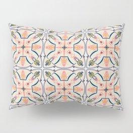 Coral Decoraive Tile Pillow Sham