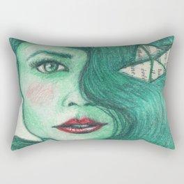 Paper ships III Rectangular Pillow