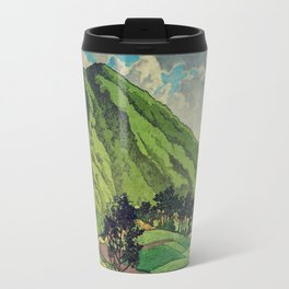 Crossing people's land in Iksey Travel Mug