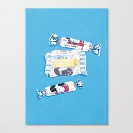 White Rabbit Candy 2 Canvas Print