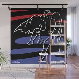 Abduction of Ganymede Wall Mural