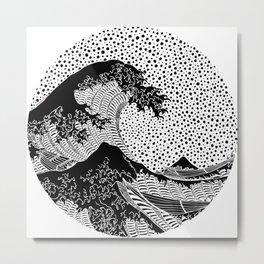 Hokusai - The Great Wave of Kanagawa Metal Print