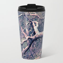 dead forest fallen trees x Travel Mug