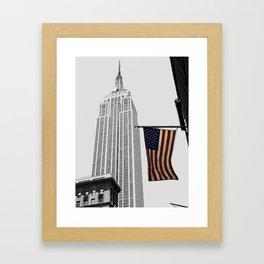Empire State Building, New York Framed Art Print