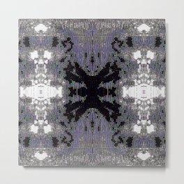 Beaded Galaxy - Slate Metal Print