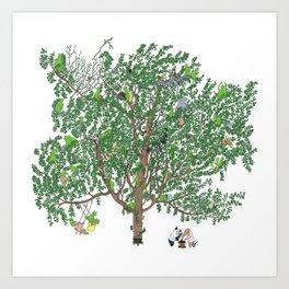 BB&PPINC Tree Print Art Print
