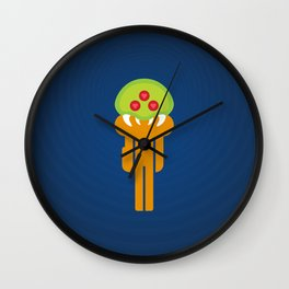 Metroid Loves Samus Wall Clock
