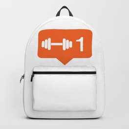 1 like working out! Backpack