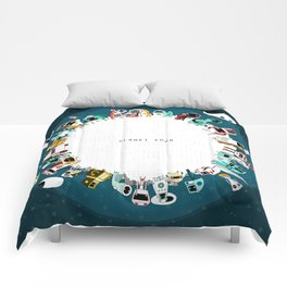 Planet Four Comforters