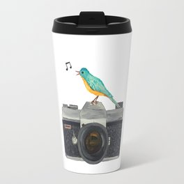 Watch the birdie Travel Mug