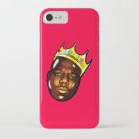 biggie iPhone & iPod Cases featuring Biggie by Sulaiman aldaham