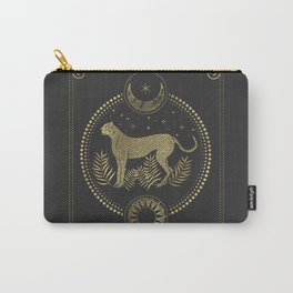 Wild Cheetah and the Moon Carry-All Pouch