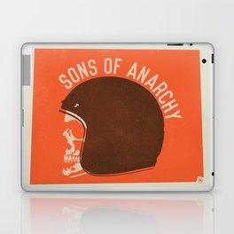 Sons of Anarchy Skull Helmet Laptop & iPad Skin