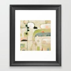 STRANGE LANDSCAPE Framed Art Print