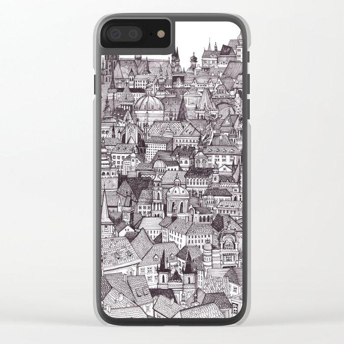 Prague Clear iPhone Case