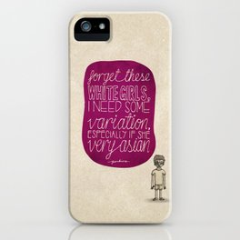 Childish Gambino; What Rappers Say Series 4/8 iPhone Case