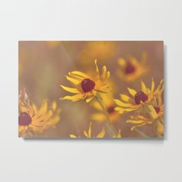 Yellow Girl Metal Print