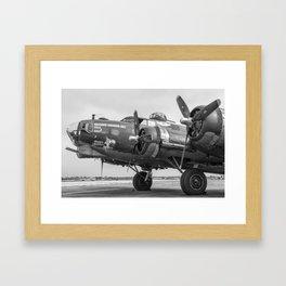 Boeing B-17 Flying Fortress Framed Art Print