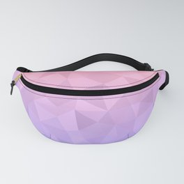 Pastel Ombre Fanny Pack