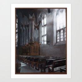 Graham Chapel Art Print