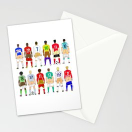 Soccer Butts Stationery Cards