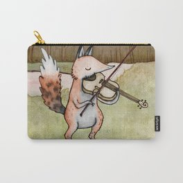Violin Fox Carry-All Pouch
