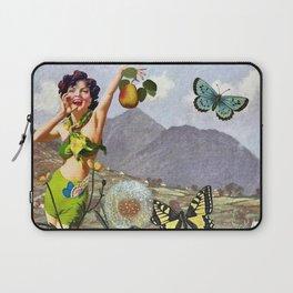 Vintage Landscape Collage Laptop Sleeve