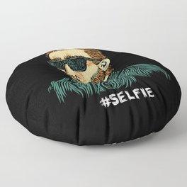 Van Gogh: Master of the #Selfie Floor Pillow