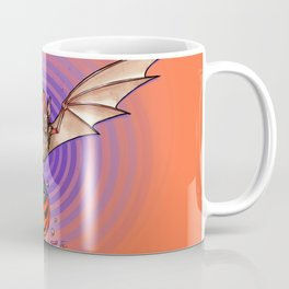 Trick or Treat Bat Coffee Mug