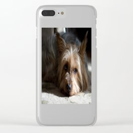 Lazy Kind of Day Clear iPhone Case