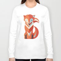 fox Long Sleeve T-shirts featuring Fox by Jay Fleck
