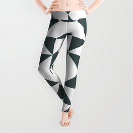 Modern Quilt Block Leggings