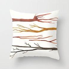 moleskine sticks Throw Pillow