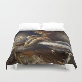 The Burnout. Duvet Cover