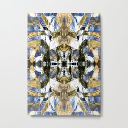 Abstract graffiti pattern Metal Print