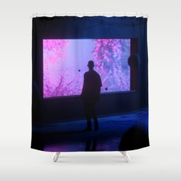Shelter Shower Curtain