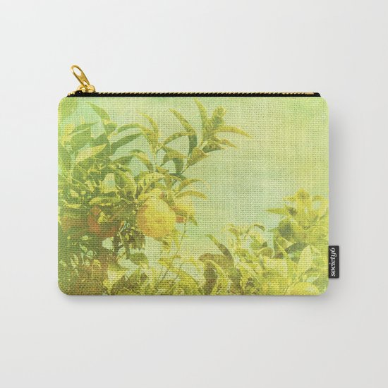 Mandarine Tree Carry-All Pouch