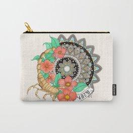 Scorpio Mandala Carry-All Pouch